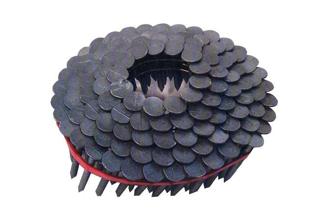 Dachpappen-Coilnägel drahtgebunden 16°